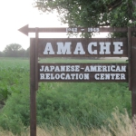 Amache Road Sign