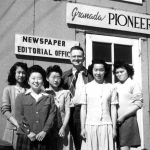 Granada Pioneer Newspaper Staff