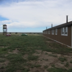 Present day restored Guard Tower and Barracks at Amache Internment Camp Granada, CO