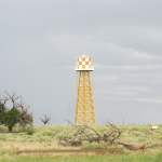 Iconic Water Tower at Amache (Granada) Internment Camp