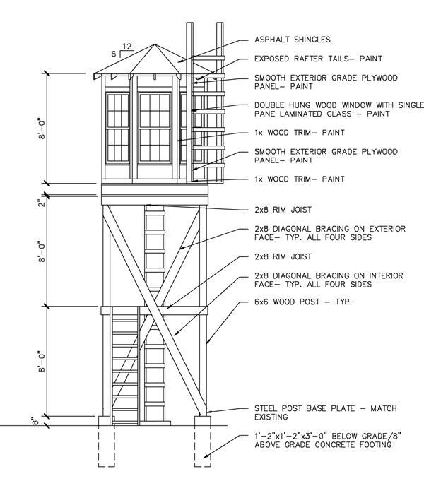 Guard Tower Plans