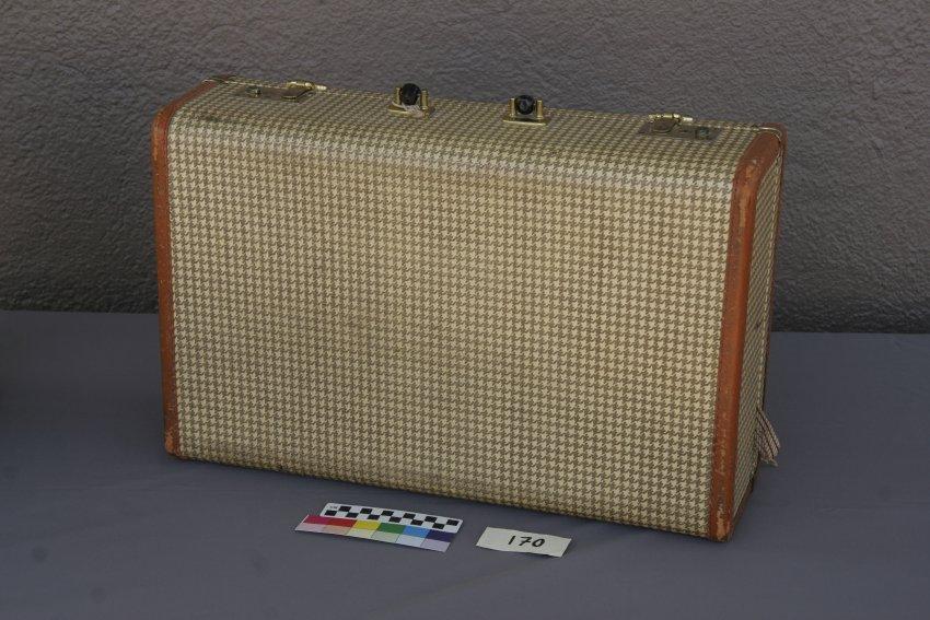 Suitcase. Photo courtesy Amache Preservation Society.
