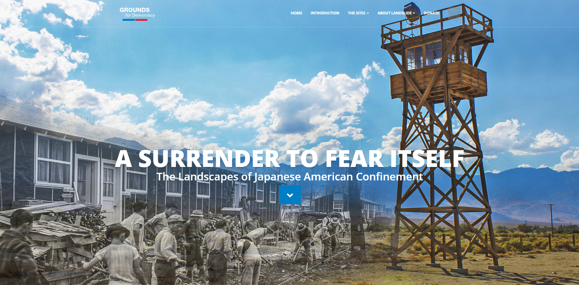 The Cultural Landscape Foundation Landscapes of Japanese American Confinement Landing Page