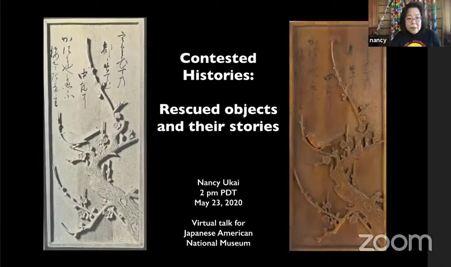 Nancy Ukai Presentation Title Slide