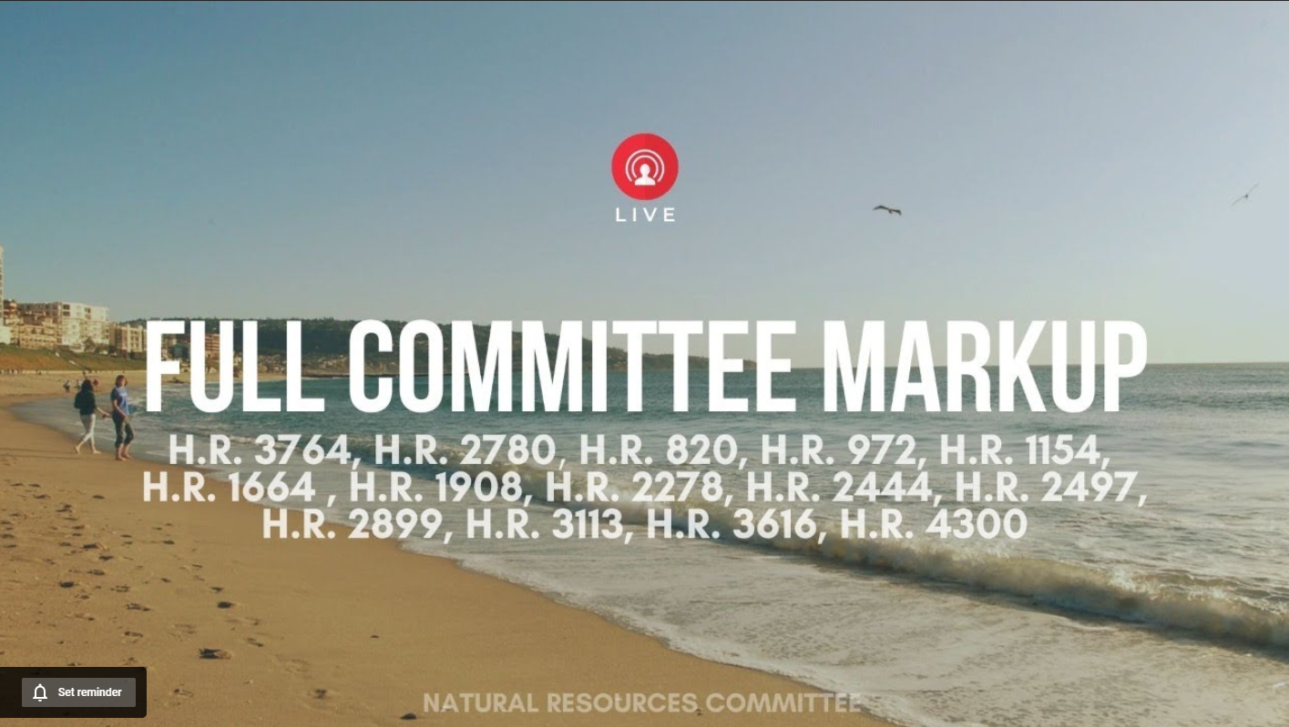 Full Committee Markup image